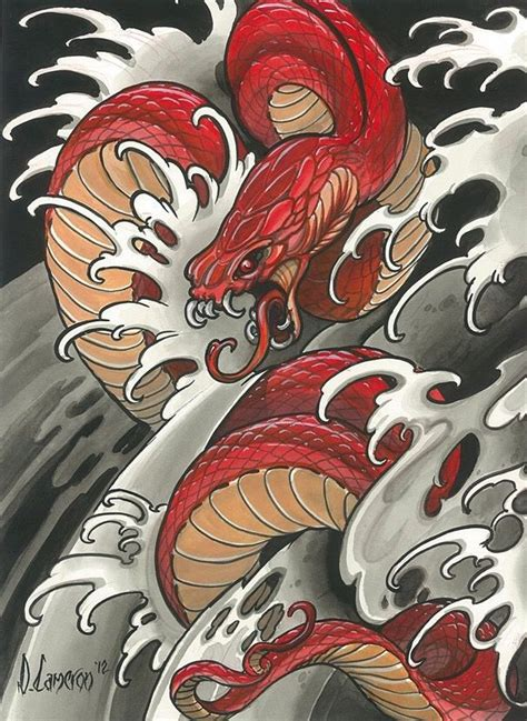 tattoo serpent oriental pin by сергей подкин quot podych quot on тату pinterest snake
