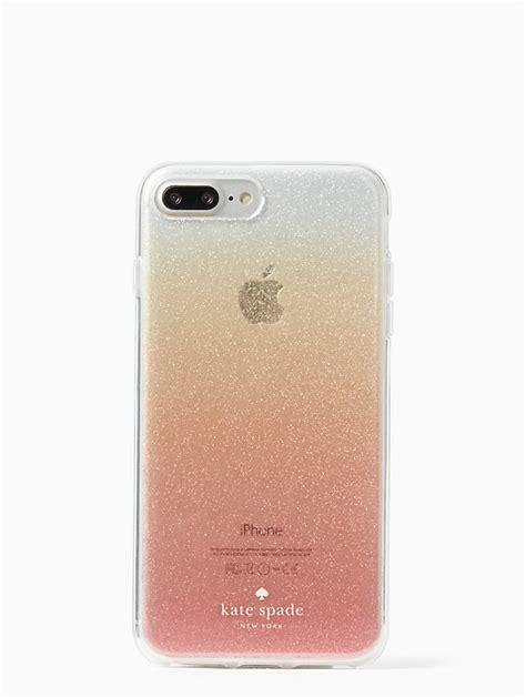 glitter ombre iphone   case kate spade  york