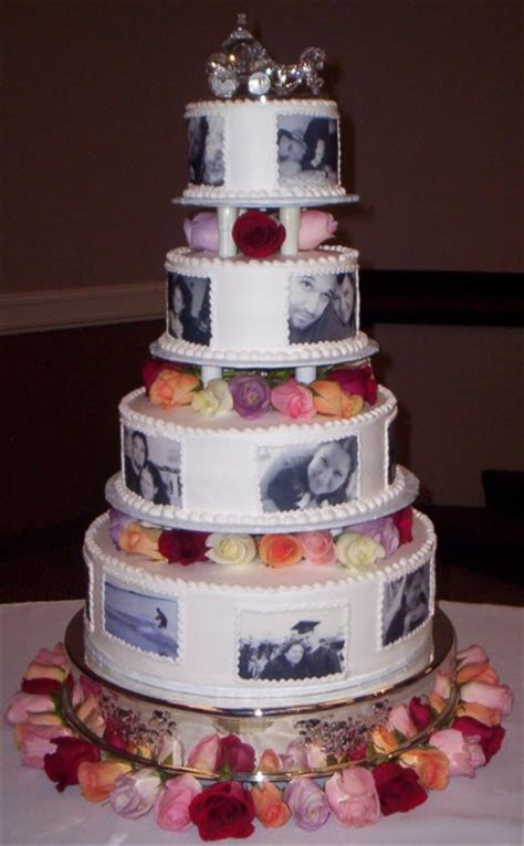 Wedding Cakes With Photos On Them by Which Wedding Cake Should I Do Whch Would Look Better