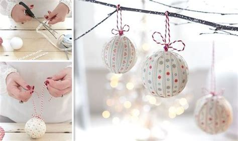 handmade christmas decorations   easy