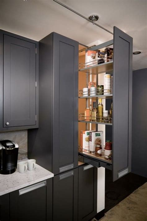 Pantry Depth by Recessed Storage Cabinet Majestic Kitchen Pantry