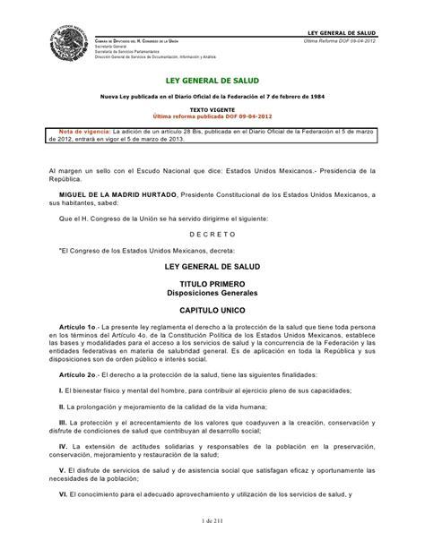 ley 24557 actualizada al 2014 ley general de salud