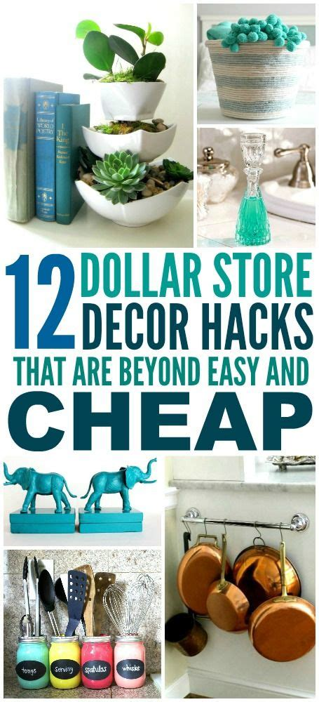 dollar store hacks 25 best ideas about home decor hacks on pinterest cheap