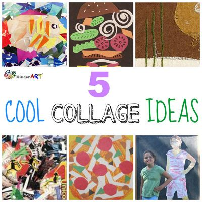 Bilder Collage Ideen by Cool Collage Ideas Kinderart