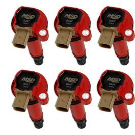 msd    coil pack red set  ecoboost