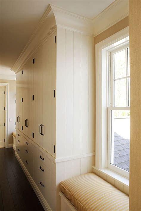 hallway floor  ceiling storage ideasmodern country