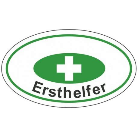 Helm Aufkleber Ersthelfer by Helmaufkleber Ersthelfer