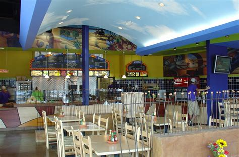 Beach Home Interior Salsarita S Restaurant Pg Harris Construction Company