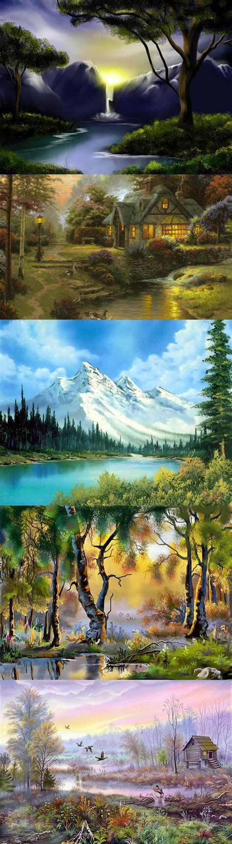 bob ross painting lesson best 20 bob ross ideas on bob ross paintings