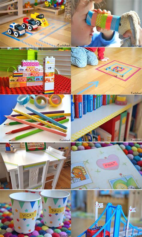 Washi Ideen by 10 Washi Ideen F 252 R Kinder Handmade Kultur