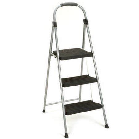 Cosco 3 Step Folding Stool by Cosco 3 Step Steel And Resin Folding Step Stool Walmart