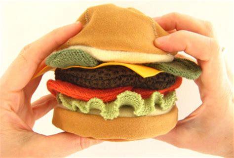 giochi di cucinare panini giocattoli stoffa looolo hamburger panino ciambella