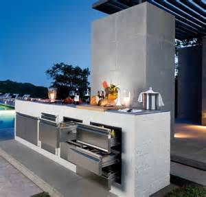 Designs For Outdoor Kitchens 56 Cool Outdoor Kitchen Designs Digsdigs