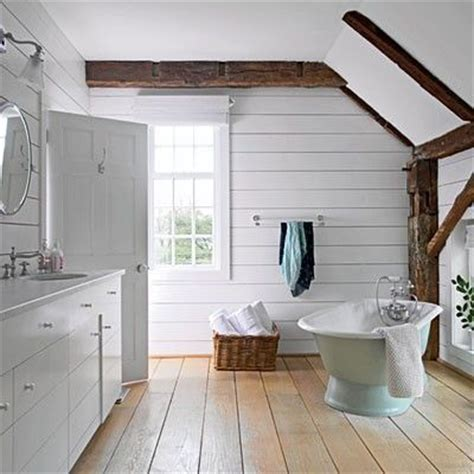 white rustic bathroom white bathroom rustic beams pine floor bathroom