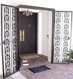 security bars doors metal fabrication aluminum