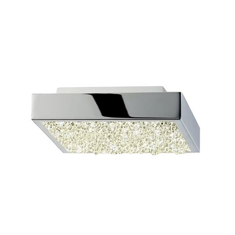 Modern Led Light Fixtures Sonneman 2568 01 Dazzle Contemporary Polished Chrome Led Ceiling Light Fixture 2568 01