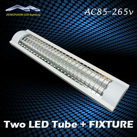 Replace Fluorescent Light Fixture With Led 0 6m Explosion Proof Two Led Lights Replace Fluorescent Light Fixture Ceiling Grille L