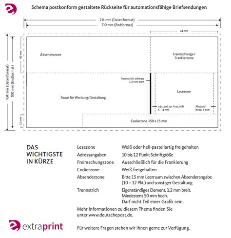 Frankierte Postkarten Drucken by Druckdaten Info Vorlagen Druckerei Extraprint