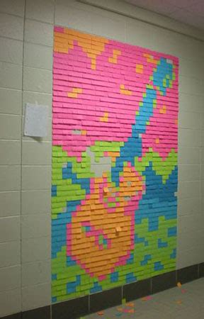 Pixelnotes Wallpaper Reinvents The Post It by Amazing Post It Notes Design Swan