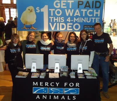 mercy for animals one s quest to inspire compassion and improve the lives of farm animals books green festival attendees inspired to choose
