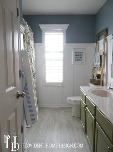 hometalk guest bathroom makeover on a budget