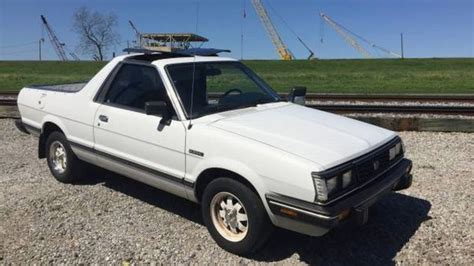 how to sell used cars 1986 subaru brat electronic toll collection for 5 200 you could pickup this 1986 subaru brat