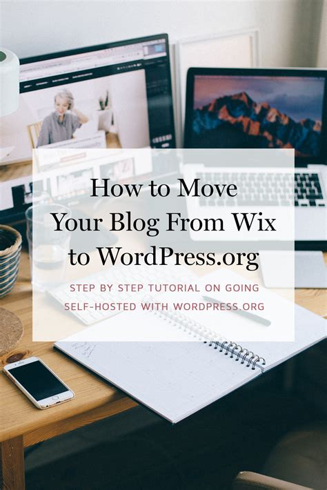 how to move your wordpress blog to a new domain how to move your blog from wix to wordpress org step by