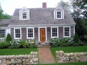 Cape Cod Style Homes Interior Landscaping Hydrangeas And Low Shrubs Homesake