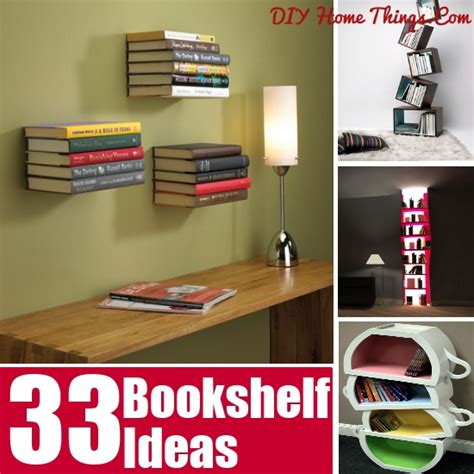 33 simply amazing bookshelf ideas diy home things