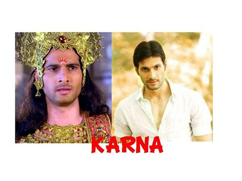film mahabharata matinya karna foto foto asli wajah para pemain mahabharata antv