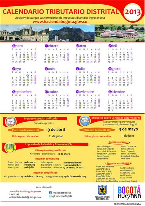calendario tributario 2016 dian calendario tributario cali 2016 calendario tributario