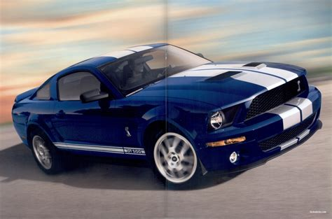 vista blue 2008 ford mustang shelby gt coupe