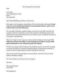 Charity Sponsorship Request Letter example of a sponsorship letter requesting in kind donations