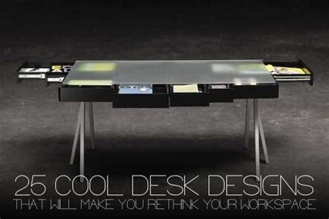 Awesome Desks by 25 Cool Desk Designs That Will Make You Rethink Your