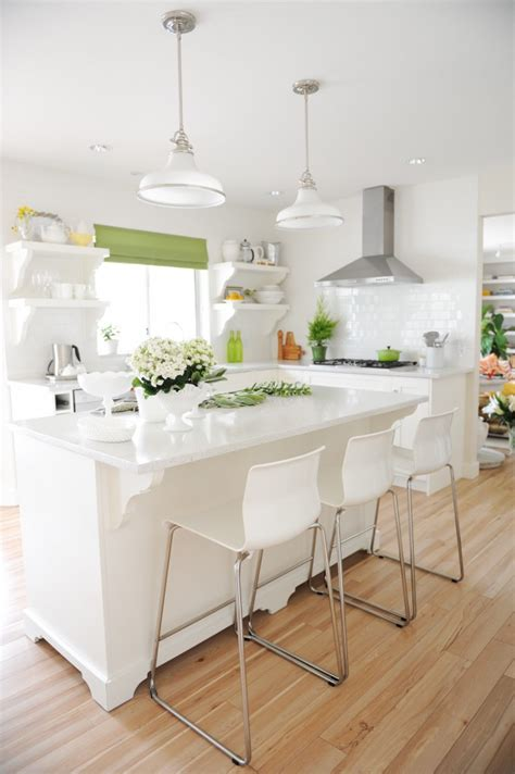 My White Kitchen inside Style at Home (Including the