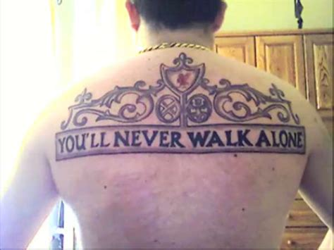 you ll never walk alone tattoo you ll never walk alone