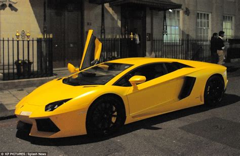 Lamborghini Aventador driver pulled over in Park Lane