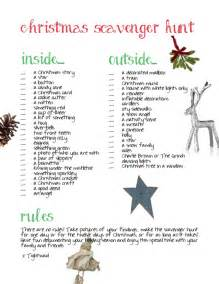tightwad christmas scavenger hunt