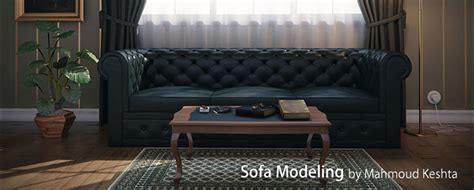 3ds max sofa tutorial cgarena sofa modeling in 3ds max