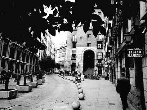 imagenes urbanas en blanco y negro madrid del blanco al negro