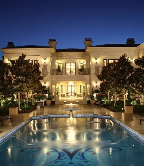 Spectacular Limestone Mansion In Los Angeles, CA   Homes