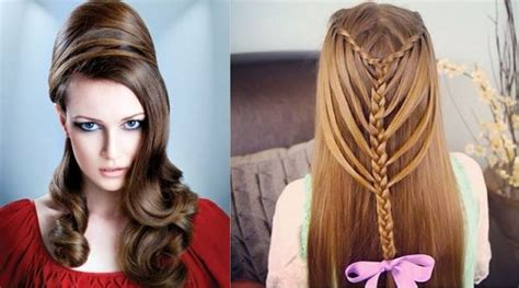 new easy and beautiful hairstyles 40 party hairstyles for long hair without makeup