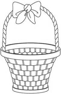 Basket Coloring Pages Online Clip Art  sketch template