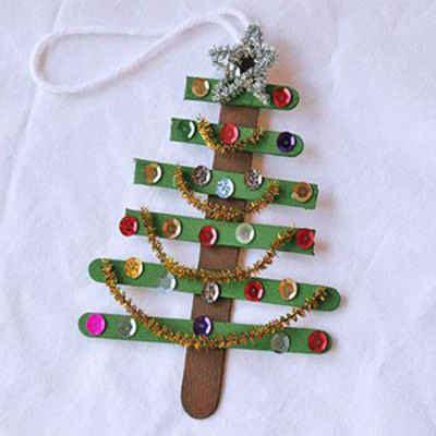 como hacer adornos navide os en casa motivos decorativos para navidad con palos de polo