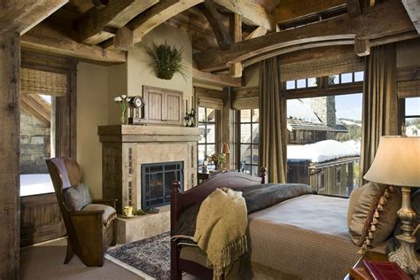 beautiful rustic bedrooms rustic guest bedroom with carpet by locati architects