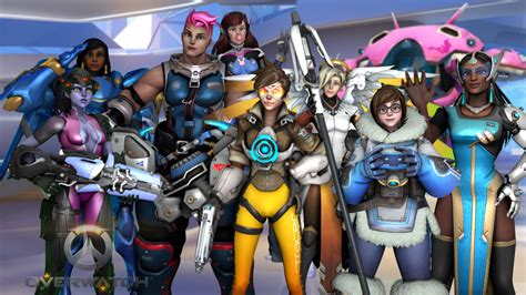 hot female overwatch characters if you re such a big overwatch fan then name which