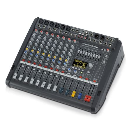 Mixer Audio Target Audio Professional 4 Ch6 power mixer 1 7