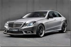 inspired modif car mercedes new e class 2009