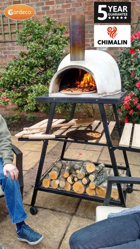gardeco pizzaro traditional pizza oven chimalin afc