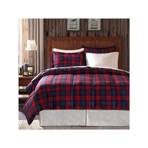 red plaid comforter com premier comfort maclachlan plaid down